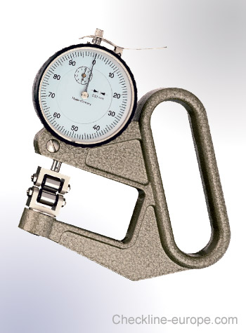 J-50-R Thickness Gauge for moving objects