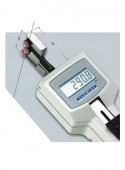 DTVB - DTVX Digital tension meter with measuring head rotated by 90°
