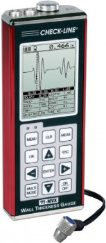 TI-MVX Ultrasonic Thickness Gauge with Enhanced Display and adjustable gain