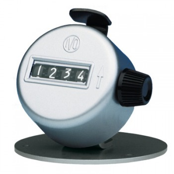 T123 IVO Mechanical Metal Manual Piece Counter