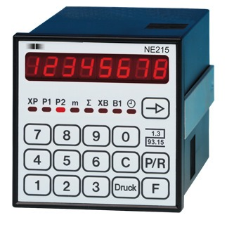 NE215 Multifunctional Counter with 2 presets and Preliminary testing by PTB