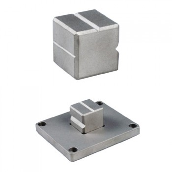 Durometer V-Block V-Block & Base plate for O-rings and small samples