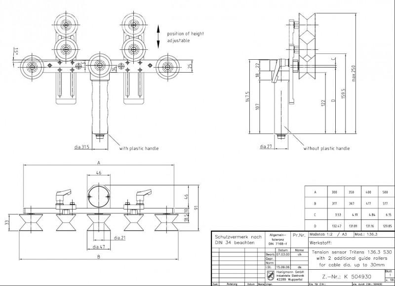 Heavy Duty Tension Meter, Digital Tensiometer - 136-3