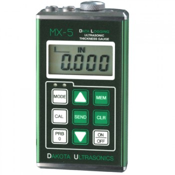 MX-5DL Data-Logging Ultrasonic Coating & Wall Thickness Gauge