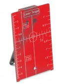 Magnetic Target Plate Leica Magnetic Target Plate With Stand 126441