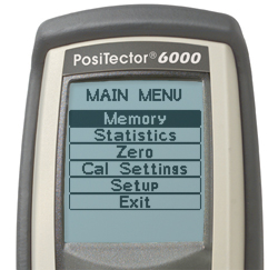 PosiTector 6000TCX, Coating Thickness Gauges