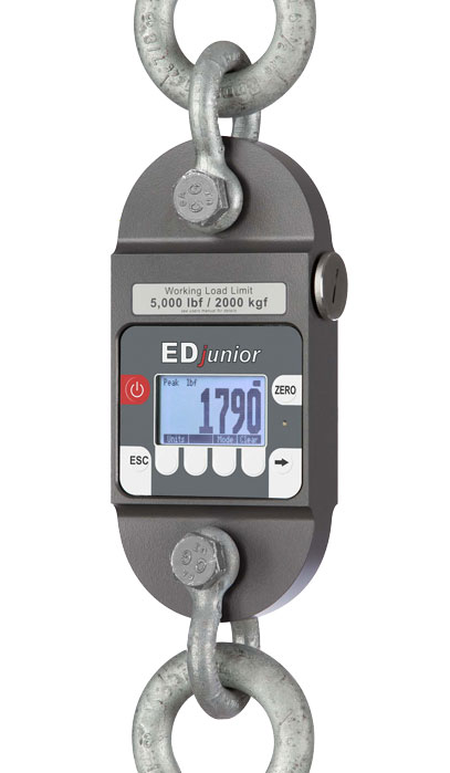 Dynamometer Load Cell : Digital dynamometer edjunior