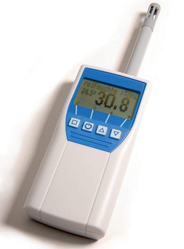 Relative Humidity Meter : Rh relative humidity meter with memory internal probe