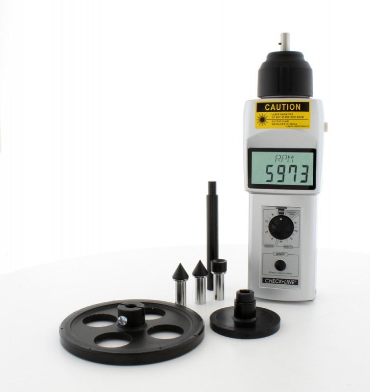 DT-205LR - DT-207LR - Contact & Non-Contact Tachometer