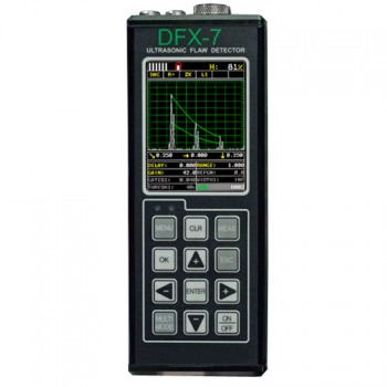 DFX7 Ultrasonic Flaw Detector & Thickness Gauge