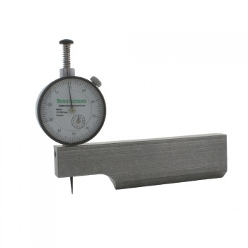 N88-5-M Reaching Pit Gauge with metric dial and 121 mm blade