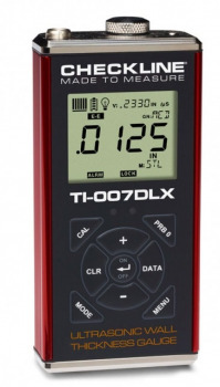 TI-007DLX for high-resolution measurements on thin-wall metal and plastics