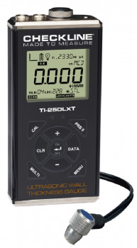 TI-25DLXT TI-25DLXT Ultrasonic Wall Thickness Gauge with datalogger and through paint measurement capabil