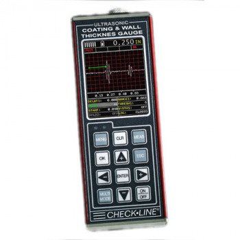 TI-CMXDLP-C Ultrasonic Thickness Gauge  - Coulour Version with A-scan function